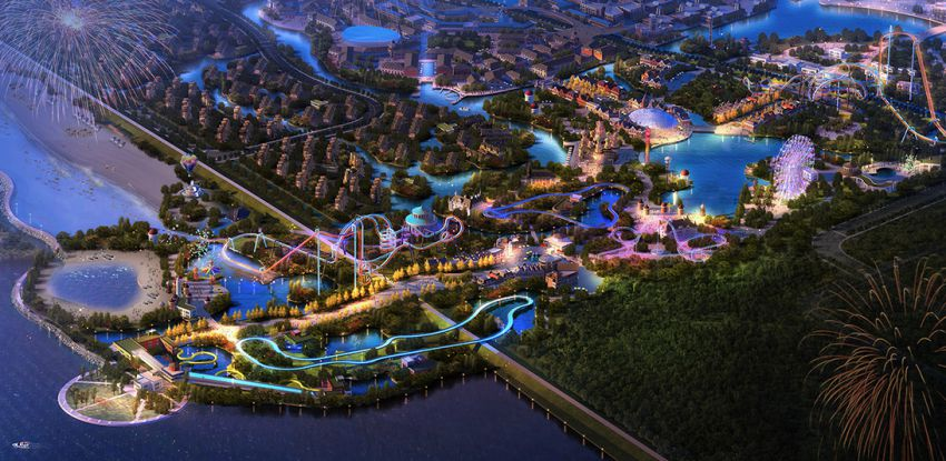 Six Flags-Branded Theme Parks to Open in China