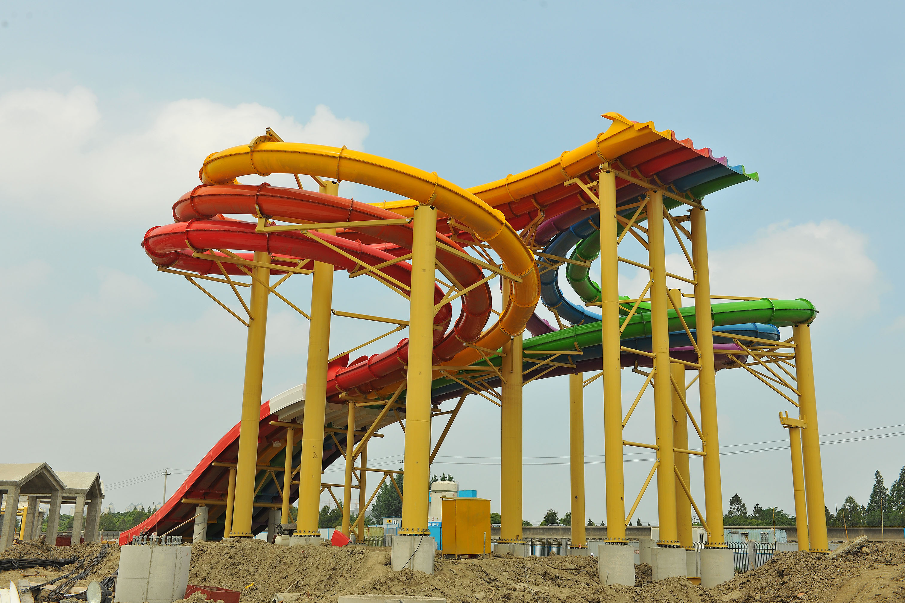 Six Flags Construction