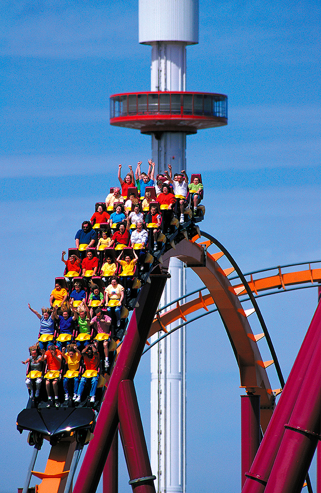 The Six Different Types Of Obesity: Six Flags Zhejiang
