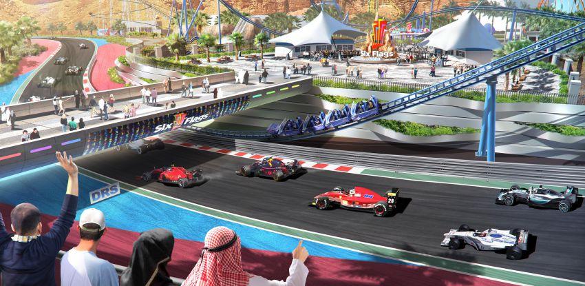 Six Flags Qiddiya Unveils Park Design