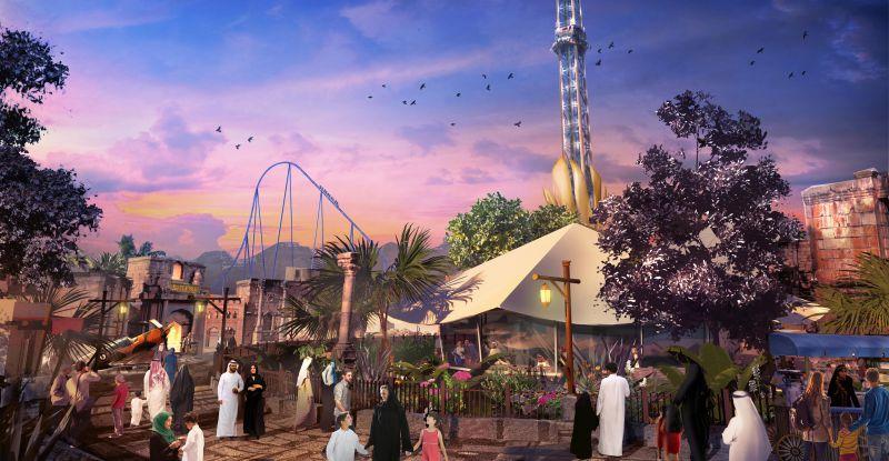 New Park President Named for  Six Flags Qiddiya Theme Park in Saudi Arabia